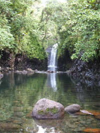 Waterfall at Lavena